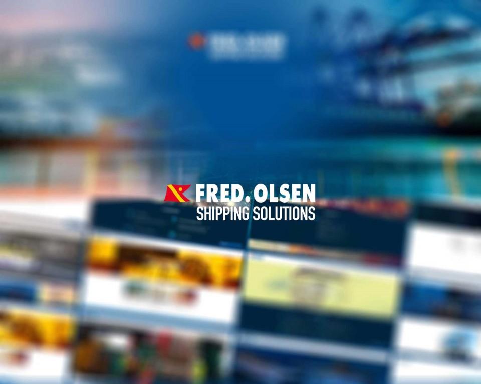 Imágenes de la web de Fred Olsen