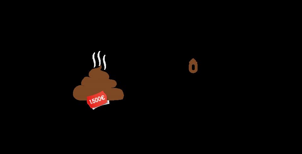 Imagen de campaña El Marrón lo Pagas Tú con fondo transparente