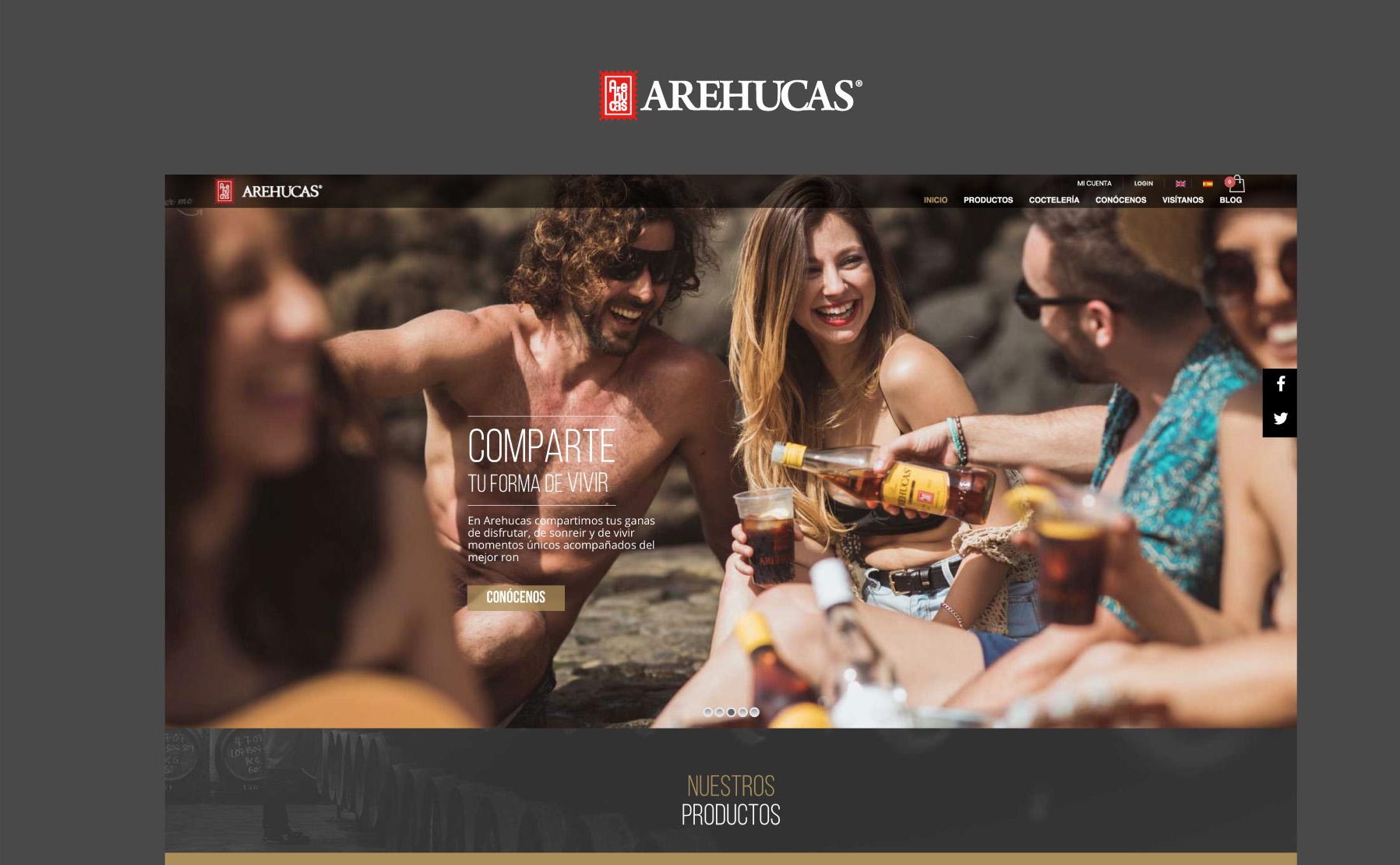 Arehucas (e-commerce y web)