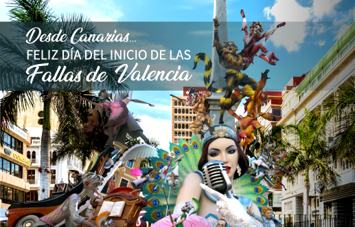 Comienzo de las Fallas de Valencia