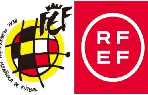 Restyling logo de la Real Federación Española de Fútbol